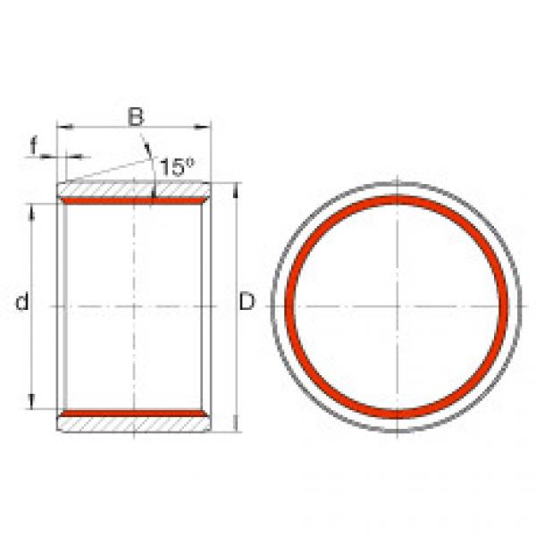 FAG Cylindrical plain bushes - ZGB35X41X30 #1 image