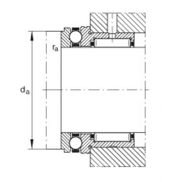 FAG إبرة بكرة / محوري الكرات - NKX35-XL #2 image