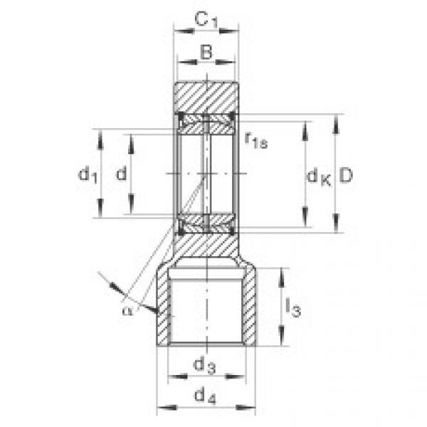 FAG Hydraulic rod ends - GIHRK70-DO #1 image