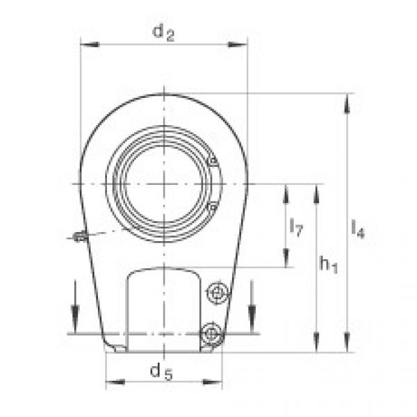 FAG Hydraulic rod ends - GIHRK70-DO #2 image