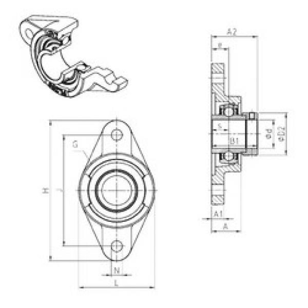 المحامل EXFL213 SNR #1 image
